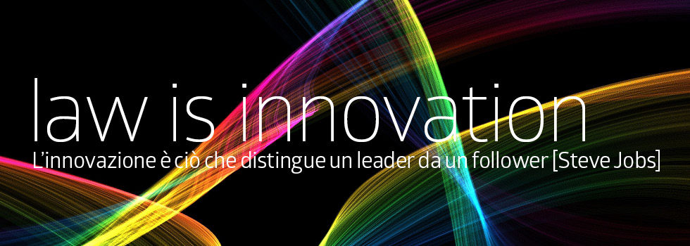 Law is innovation – IT