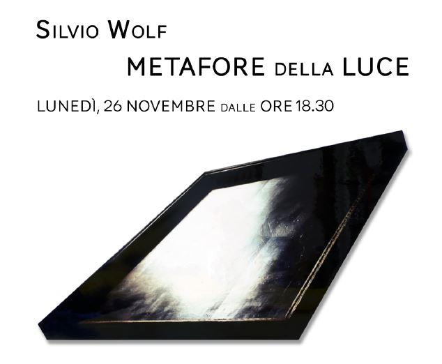 """Inaugurazione Mostra """"Metafore della Luce"""" di Silvio Wolf"""