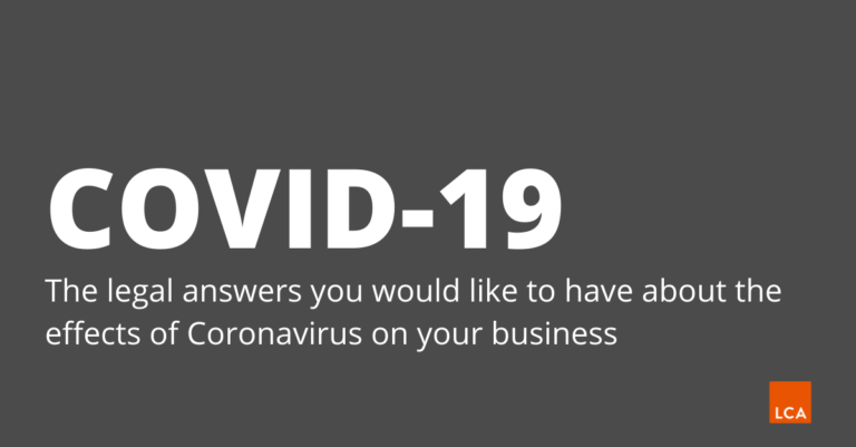 The legal answers you would like to have about the effects of Coronavirus on your business